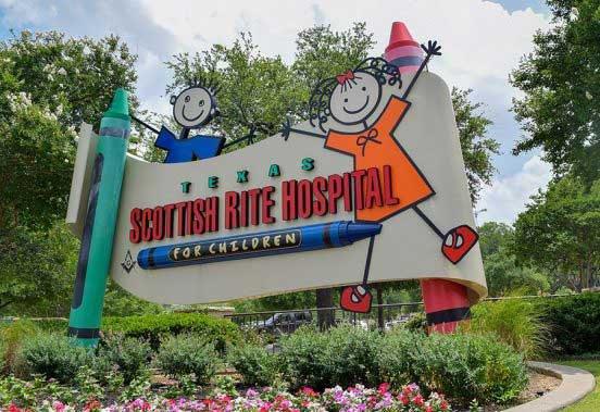 scottish rite hospital sign - top professional real estate trainer grant trevithick dallas